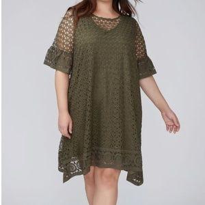 Crochet Style Swing Dress